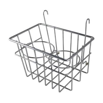 Drinks Holder / Storage Basket, Chrome, 55-67.   SCH0548220
