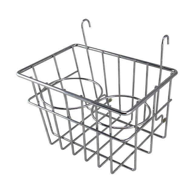 Drinks Holder / Storage Basket, Chrome, 55-67.   SCH0548220