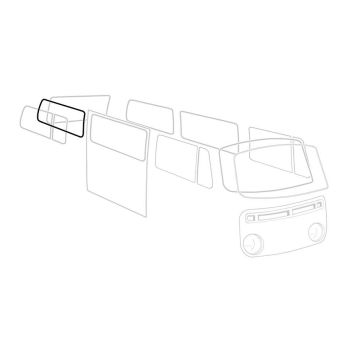 Deluxe Rear Side Window Seal 68-79 Fits Left or Right.    241-845-342AT