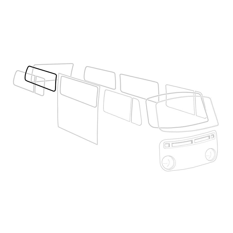 Deluxe Rear Side Window Seal 68-79 241-845-342AT