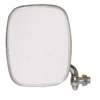 Budget Stainless Front Door Mirror, Left 68-79.   211-857-513R