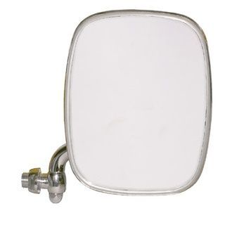 Budget Stainless Front Door Mirror, Right 68-79.   211-857-514R