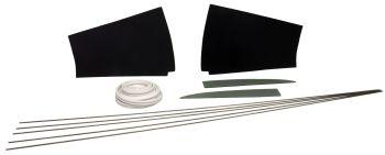 Headliner Installation Kit, Deluxe Models 64-67.    241-898-006