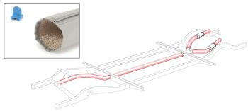 Heater Tube Insulation Wrap Kit 64-67.   211-255-900B