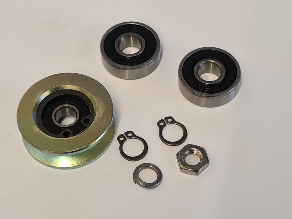 Centre Track Roller Wheel Kit 85-92.   251-843-361BKIT