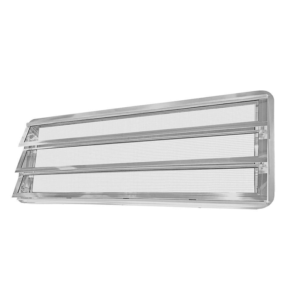 Westfalia Louvred Window Left 68-79, CHROME.       231-845-711 CHR