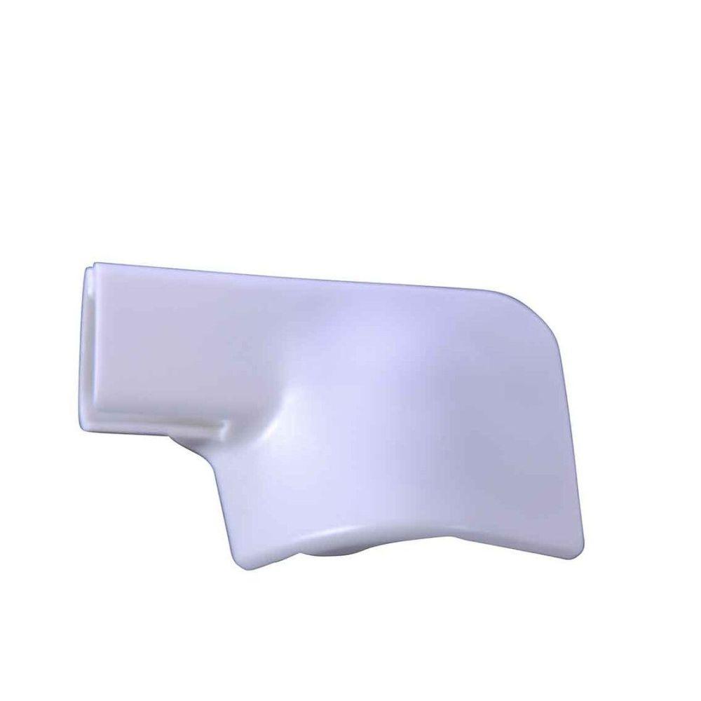 End Cap for Trim Above Sliding Door, Left Side 80-91 T25.    255-843-187
