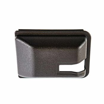 Sliding Door Interior Lock Mechanism Cover, 80-7/84, Black.   255-843-698B