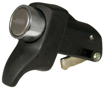 Engine Lid Lock 72-79, Black.   211-827-503LB