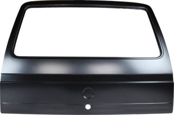 New Complete Tailgate 85-91 with Badge Recess.   251-829-105