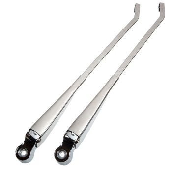Polished Stainless Steel Wiper Arms , Pair 69-70.    211-955-409ESS