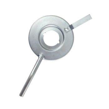 Rear Brake Oil Deflector 50-55 Barndoor.   211-501-631