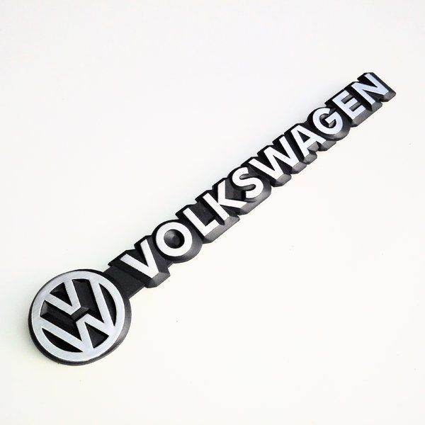 Volkswagen Rear Script Badge 80-92, Genuine VW.   251-853-685A
