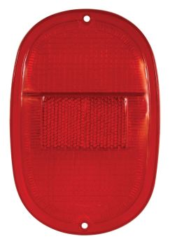 Red Rear Light Lens 62-71.   211-945-241MRR