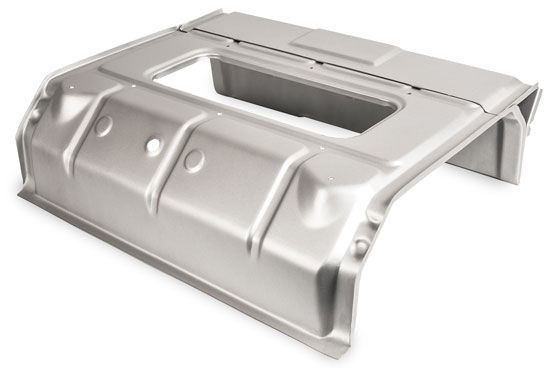 Cab Tool Chest / Tool Box under Front Seats 63-67 LHD.   211-703-599