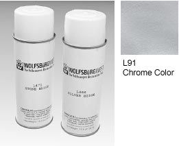 L91 Chrome Colour Spray Paint Aerosol Can.