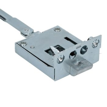 Complete Cab Door Lock Mechanism, Drivers side 55-60.    211-837-015B