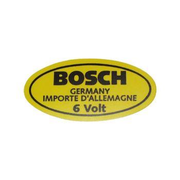 6 Volt Bosch Sticker - AC853951