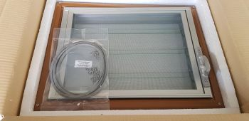 Splitscreen Westfalia Jalousie Window, Complete 55-67.