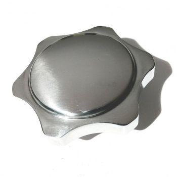 Heater Control Knob, Polished Aluminium 50-67.   113-711-623AP