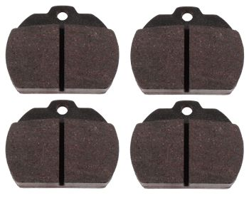 """Brake Pad Set, Single Pin """"Kidney Shaped"""" 8/72-79 Beetle.   111-698-151B"""