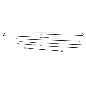 Steel Brake Pipe Kit, German 49-57 Beetle.    111-698-500