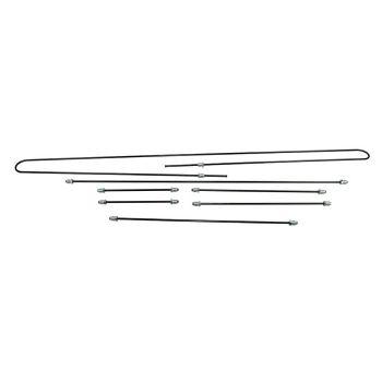 Steel Brake Pipe Kit, German 58-66 Beetle.    111-698-501