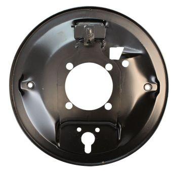Rear Brake Backing Plate, Left 47-10/57 Beetle.   113-609-439
