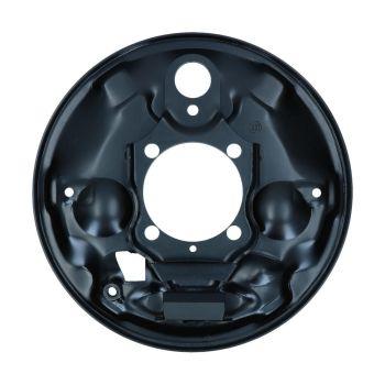 Rear Brake Backing Plate, Left 11/57-7/64 Beetle.   113-609-439B