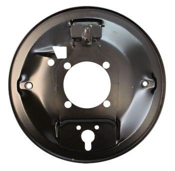 Rear Brake Backing Plate, Right 47-10/57 Beetle.   113-609-440