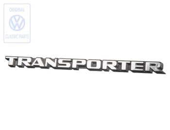 Rear Transporter Badge 84-91 Genuine VW.   251-853-689D