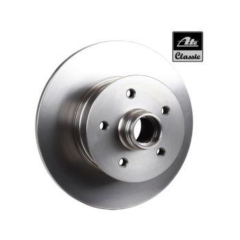 Front Brake Disc 80-86, Genuine ATE.   251-407-617A TE