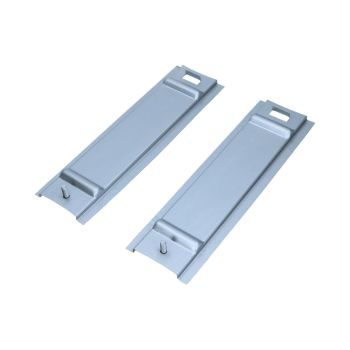 Pick-up Fuel Tank Mounting Plates 55-67, Pair.   261-801-403PL