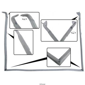 Cab Door Seal, Left Side 56-79 Convertible.   151-831-721D