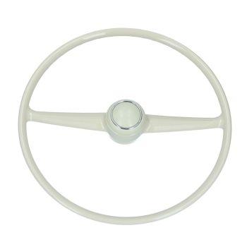 Steering Wheel for Brazilian Splitscreen, Ivory.   211-415-651Z