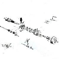 <!-- 005 --> Rear Axle parts
