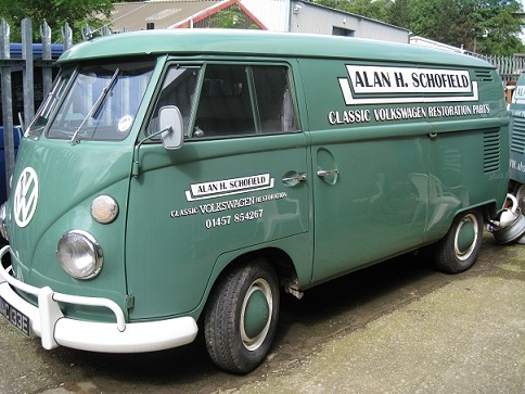 Welcome to Alan H  Schofield, Classic VW Restoration Parts