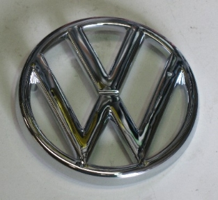 Front Badge Genuine VW 95mm 80-85.   321-853-601