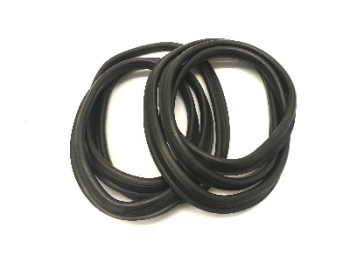 Front Screen Seals, Pair, Top Quality with Moulded Corners 55-67.   211-845-121A