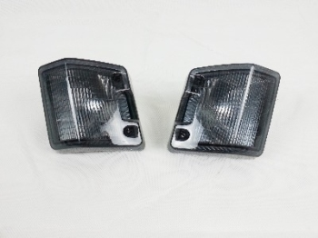 REPRO Front Indicator Lens, Pair, Smoked.   251-953-141SP