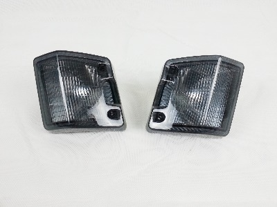 Hella Front Indicator Lens, Pair, Smoked.   251-953-141SP