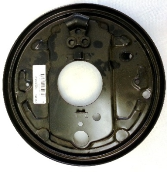 Rear Brake Backing Plate, Top Quality Left 80-92    251-609-425D