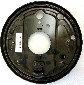 Rear Brake Backing Plate, Top Quality Right 80-92 251-609-426D