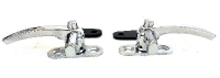 Safari Window lock latches , triple chrome , all safari's pair 261-847-515