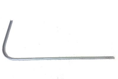 Rear Corner Gutter Repair, Left 68-79.  211-817-310L