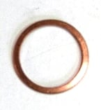 Brake Fluid Reservoir Copper Washer ->66.   N13-827-2