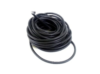 Roof Gutter Edging Trim, Rubber. Black 80-92 (Enough for full van).   251-853-707DR