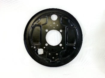 Backing Plate, Rear Left, Top Quality 3/55-7/63.   211-609-439A