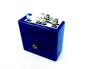 9-Pin Flasher Relay 66-67. 12 Volt   211-953-227B