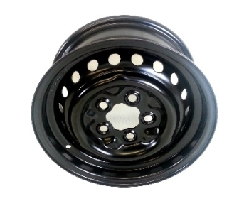 Standard Steel Wheel 5.5 x 14, Black 71-92. 211-601-027HB